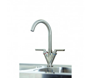 Iona KT2 Brushed Nickel Kitchen Tap