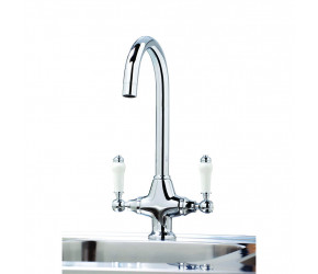 Iona KT3 Chrome Traditional Kitchen Tap