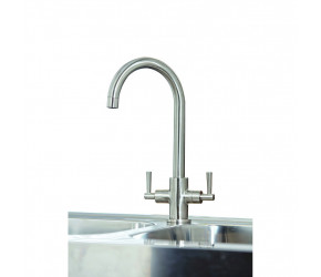 Iona KT4 Brushed Nickel Kitchen Tap