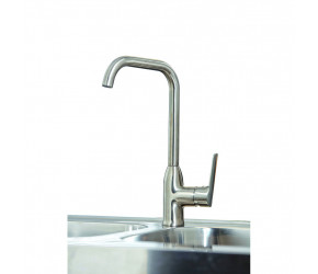 Iona KT6 Brushed Nickel Kitchen Tap