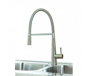 Iona KT9 Brushed Nickel Pull Out Kitchen Tap