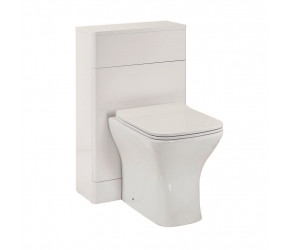 Iona Eve Gloss White Back to Wall Toilet WC Unit 500mm