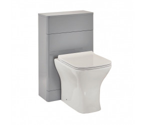 Iona Eve Pebble Grey Back to Wall Toilet WC Unit 500mm