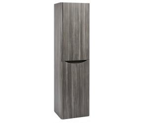Iona Contour Avola Grey 1500mm Tall Boy Bathroom Storage Unit