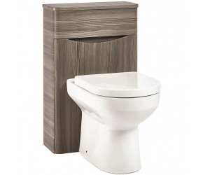 Iona Contour Avola Grey Back To Wall Toilet WC Unit 500mm