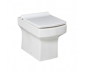 Iona Vola Back To Wall Toilet Pan with Slimline Seat