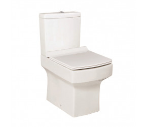 Iona Vola Open Back Pan with Cistern and Slimline Seat