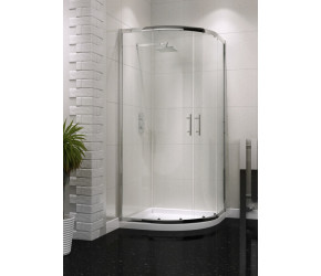 Iona A6 Easy Clean Double Door Quadrant Shower Door 900mm