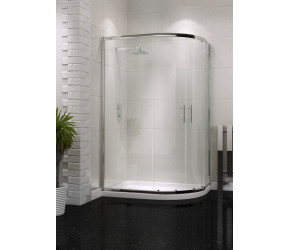 Iona A6 Easy Clean Double Door Offset Quadrant Shower Door 1200mm x 900mm