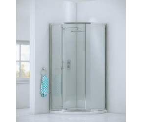 Iona A6 Easy Clean Single Door Quadrant Shower Door 900mm
