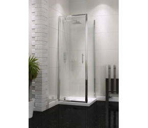 Iona A6 Easy Clean Pivot Shower Door 760mm