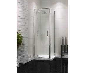 Iona A6 Easy Clean Pivot Shower Door 800mm