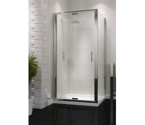 Iona A6 Easy Clean Semi Frameless Bifold Shower Door 900mm