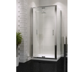 Iona A6 Easy Clean Semi Frameless Bifold Shower Door 1000mm