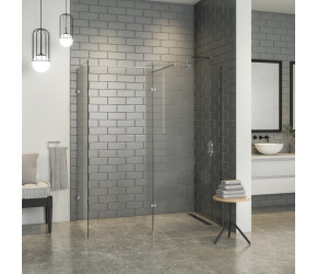 Iona A10 Easy Clean 10mm Glass Wetroom Shower Panel 1200mm x 2000mm