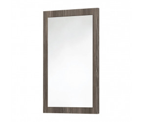Iona Avola Grey Wooden Frame Mirror 900mm x 600mm