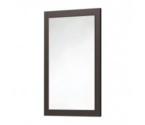 Iona Matt Grey Wooden Frame Mirror 900mm x 600mm
