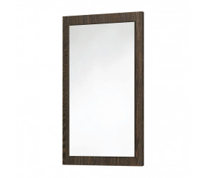 Iona Dark Oak Wooden Frame Mirror 900mm x 600mm