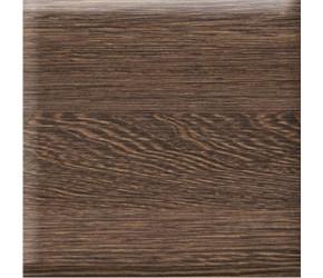 Iona Dark Oak Vinyl Wrap End Bath Panel 800mm