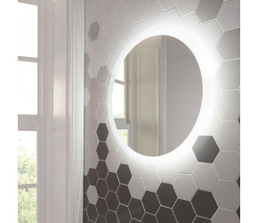 Iona LED Circular Mirror With Demister Pad 600mm