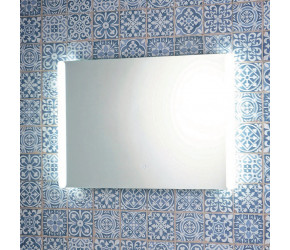 Iona LED Mirror With Demister Pad And Shaver Socket 700mm x 500mm