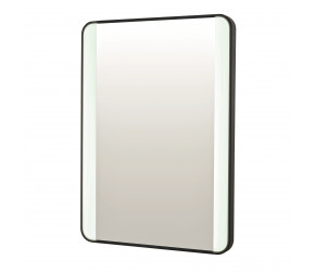 Iona Noire Soft Square LED Mirror 700mm x 500mm
