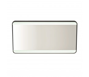 Iona Noire Soft Square LED Mirror 600mm x 1200mm