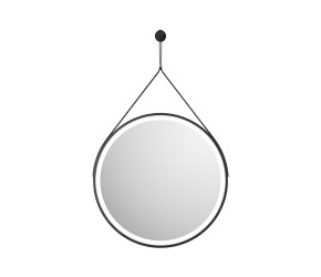 Iona Round Hanging LED Mirror 600mm