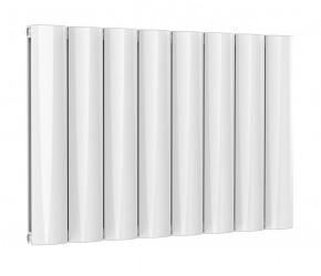Reina Belva White Aluminium Double Panel Horizontal Radiator 600mm x 828mm