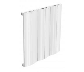 Reina Wave White Aluminium Single Panel Horizontal Radiator 600mm x 620mm