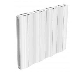 Reina Wave White Aluminium Double Panel Horizontal Radiator 600mm x 828mm