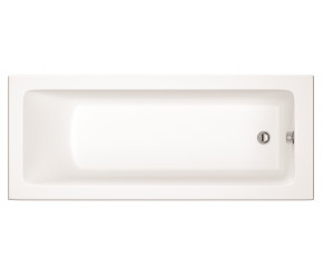 Iona Solarna Square Single Ended Bath 1700mm x 750mm