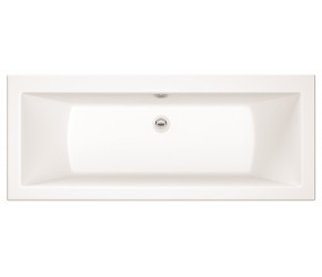 Iona Solarna Square Double Ended Bath 1700mm x 750mm