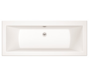 Iona Solarna Square Double Ended Bath 1800mm x 800mm