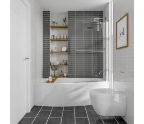 Iona Space Saver Shower Bath End Panel 700mm