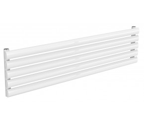 Reina Nevah White Single Panel Horizontal Radiator 295mm x 1200mm