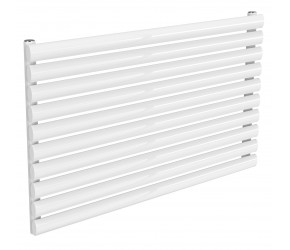 Reina Nevah White Single Panel Horizontal Radiator 590mm x 1000mm