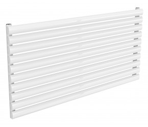 Reina Nevah White Single Panel Horizontal Radiator 590mm x 1200mm