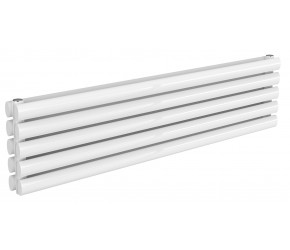 Reina Nevah White Double Panel Horizontal Radiator 295mm x 1200mm