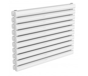 Reina Nevah White Double Panel Horizontal Radiator 590mm x 800mm