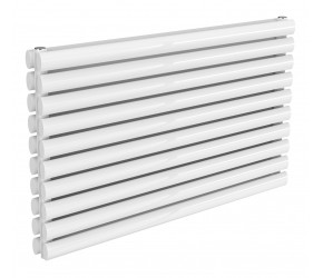 Reina Nevah White Double Panel Horizontal Radiator 590mm x 1000mm