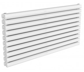 Reina Nevah White Double Panel Horizontal Radiator 590mm x 1200mm