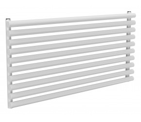 Reina Roda White Single Panel Horizontal Radiator 590mm x 1200mm