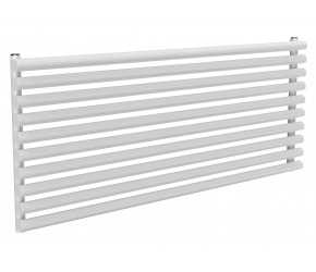 Reina Roda White Single Panel Horizontal Radiator 590mm x 1400mm
