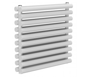 Reina Roda White Double Panel Horizontal Radiator 590mm x 600mm