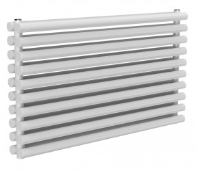 Reina Roda White Double Panel Horizontal Radiator 590mm x 1000mm