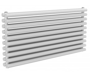 Reina Roda White Double Panel Horizontal Radiator 590mm x 1200mm