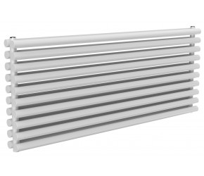 Reina Roda White Double Panel Horizontal Radiator 590mm x 1400mm