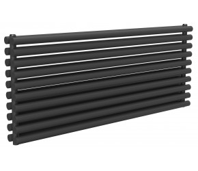 Reina Roda Anthracite Double Panel Horizontal Radiator 590mm x 1400mm
