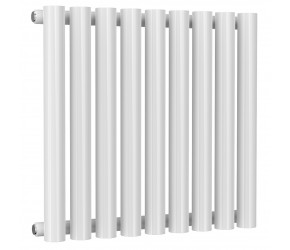 Reina Sena 550mm High x 595mm Wide White Designer Radiator
